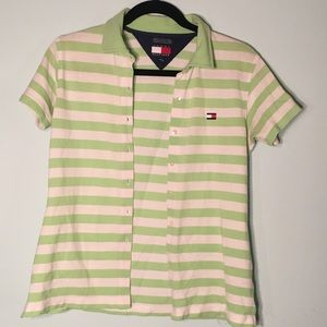 Tommy button up polo